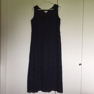 Cold water Creek maxi lace dress